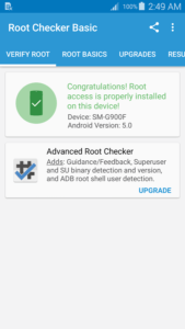 root verified